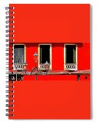 Rialto Red Spiral Notebook