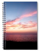 Ribbon In The Sky Spiral Notebook
