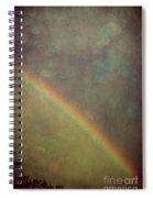 Ribbon Of Rain  Spiral Notebook