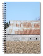 Ribbon Roof Barn Spiral Notebook
