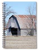 Ribbon Roof Crib Spiral Notebook