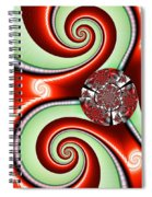 Ribbons And Bows Spiral Notebook