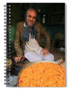 Rice And Bean Seller Spiral Notebook