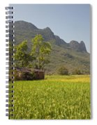 Rice Farm Spiral Notebook