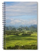 Rice Farming In China Spiral Notebook