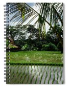 Rice Fields Bali Spiral Notebook