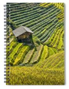 Rice Fields Terraces Spiral Notebook