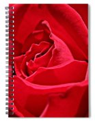 Rich Red Spiral Notebook