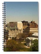 Richmond Virginia - Old And New Capitol Buildings Spiral Notebook