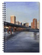Richmond Virginia Skyline Spiral Notebook