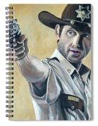 Rick Grimes Spiral Notebook