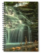 Ricketts Glen Shawnee Waterfall Spiral Notebook