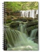 Ricketts Glen Waterfall Cascades Spiral Notebook