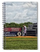 Rickwood Classic Baseball - Birmingham Alabama Spiral Notebook