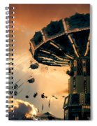 Ride The Clouds Spiral Notebook