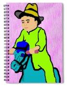 Ride The Horsey Spiral Notebook