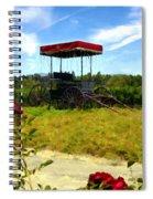 Rideau Vineyards Solvang California Spiral Notebook
