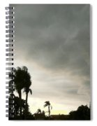 Riders On The Storm Spiral Notebook