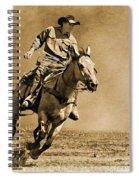 Ridin' Hard Spiral Notebook