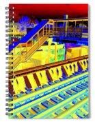 Ridin The Rails Spiral Notebook