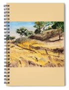 Riding By Back Road  Spiral Notebook