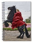 Riding High Spiral Notebook