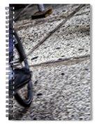 Riding On The Sidewalk Spiral Notebook