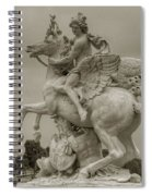 Riding Pegasis Spiral Notebook