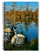 Riding The Mississippi Delta Spiral Notebook