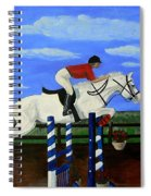 Riding The Wind Spiral Notebook