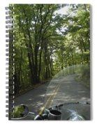 Riding The Woods Of Alabama Spiral Notebook