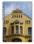 Riga Cat House Spiral Notebook