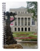 Riga National Opera House Spiral Notebook