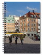 Riga Old Town 3 Spiral Notebook