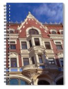 Riga Old Town 5 Spiral Notebook
