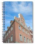 Riga Pink Building Spiral Notebook