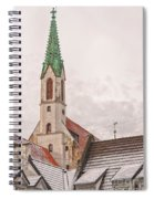 Riga St Johns Church Spiral Notebook