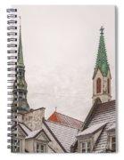 Rigan Steeples Spiral Notebook