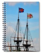 Rigging And Flags Spiral Notebook