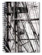 Rigging Spiral Notebook