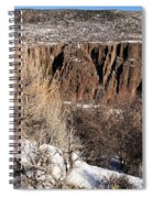 Rim Of The Black Canyon Spiral Notebook