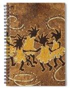 Ring-around-the Rosie Spiral Notebook