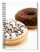 Ring Doughnuts Spiral Notebook