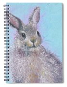 Easter Bunny Painting - Ringo  Spiral Notebook