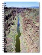Rio Grande Gorge Spiral Notebook