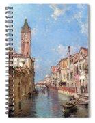 Rio St Barnaba Venice Spiral Notebook