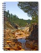 Rio Tinto Mines, Huelva Province Spiral Notebook