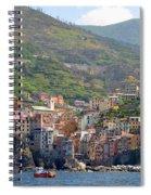 Riomaggiore Spiral Notebook