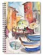 Riomaggiore In Italy 01 Spiral Notebook