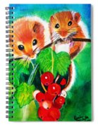 Ripe-n-ready Cherry Tomatoes Spiral Notebook